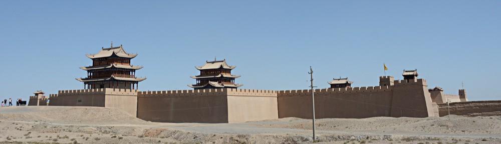 The fort of Jiayuguan