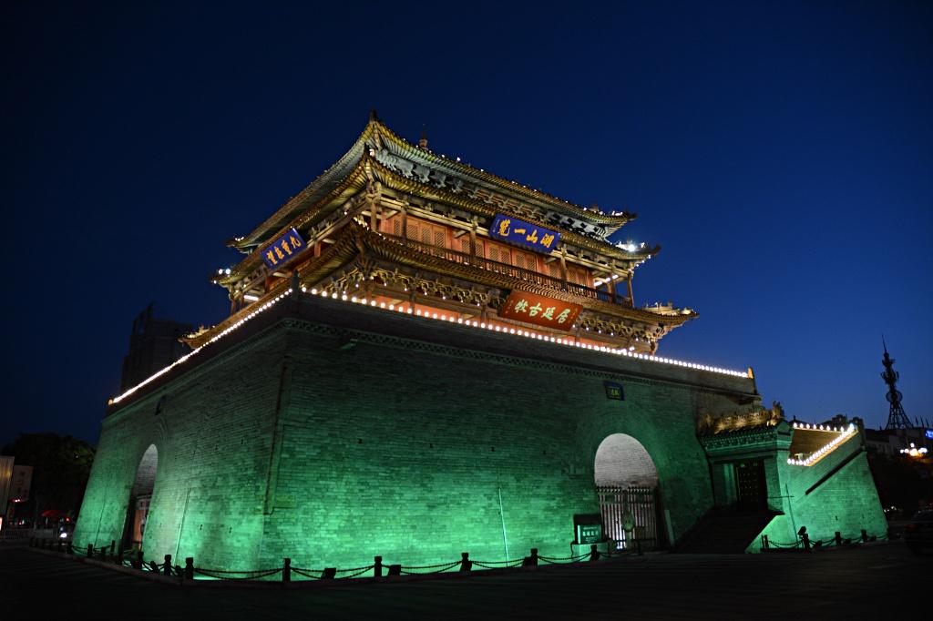 Zhangye nightlife