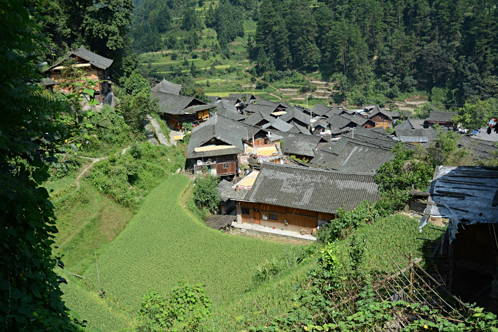Upper Langde: Village of the Miao minority