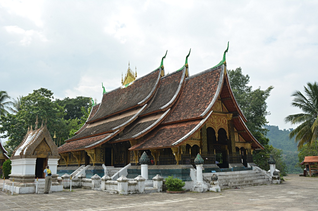 The most famous wat in Luang Prabang: Wat Xieng Toung