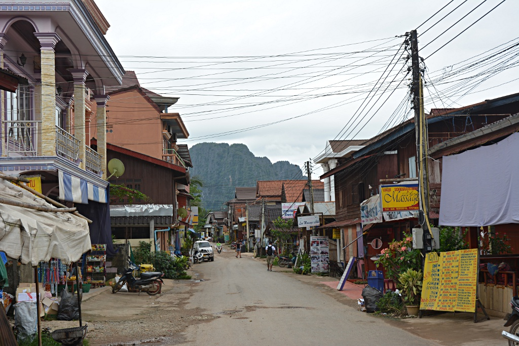 A lot on offer in Vang Vieng