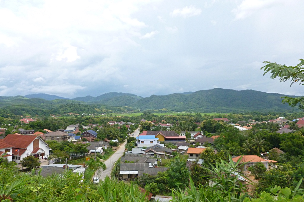 Luang Namtha from above