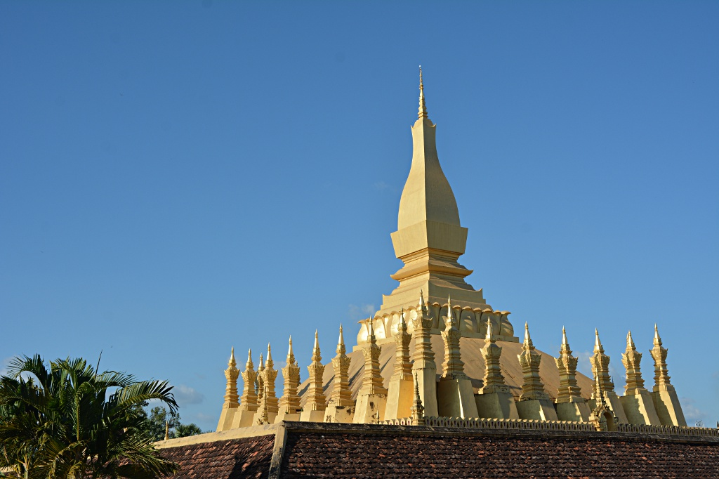 That Luang, the Golden stupa of Viantiane