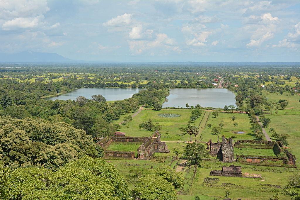 Vat Phu and the Mekong river valley