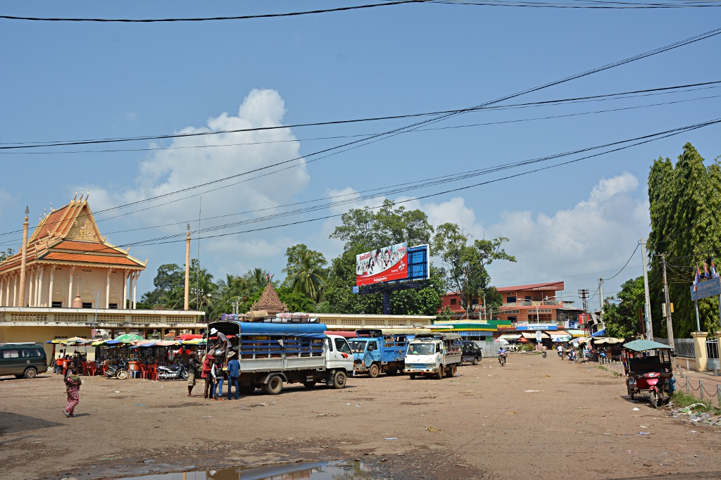 Kratie bus station