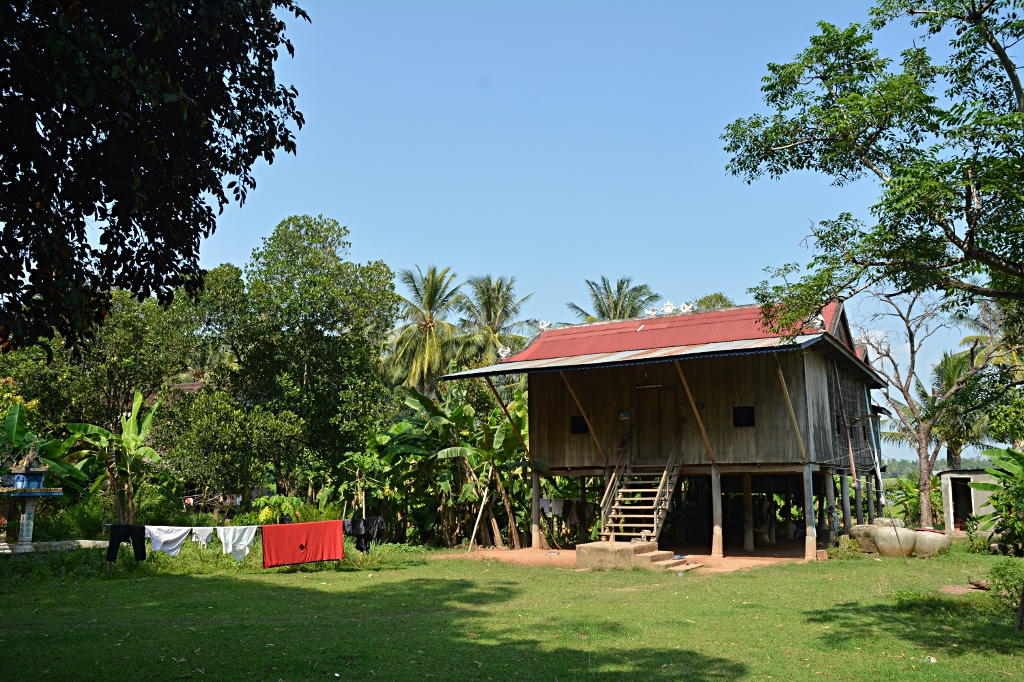Farmer's home on Koh Trong