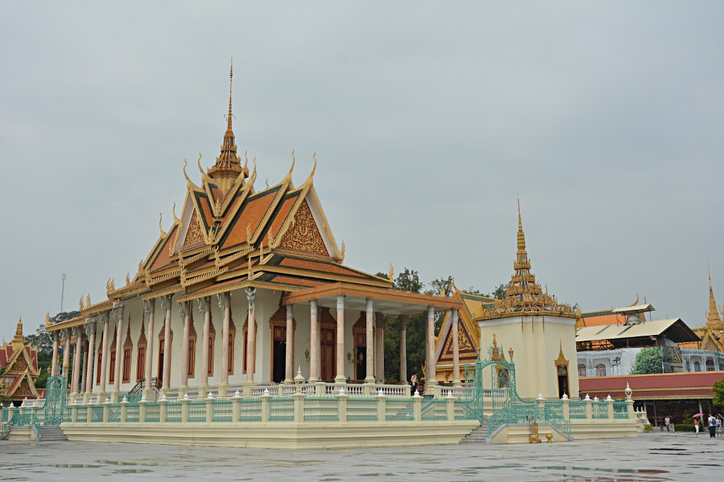 Silver Pagoda in the Phnom Penh Palace