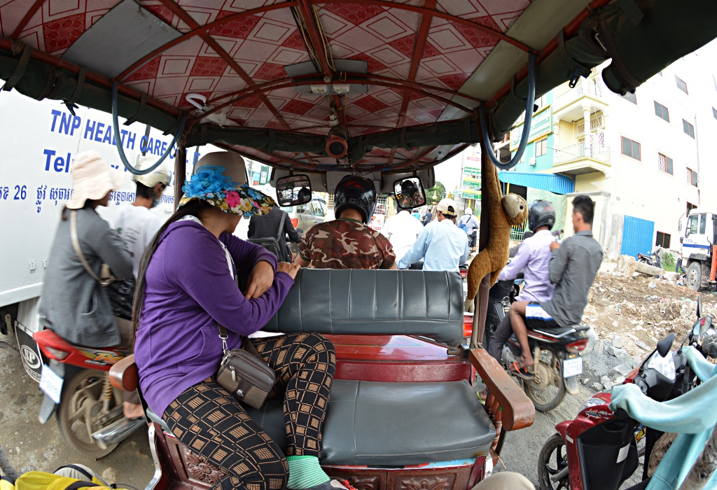 Phnom Penh traffic