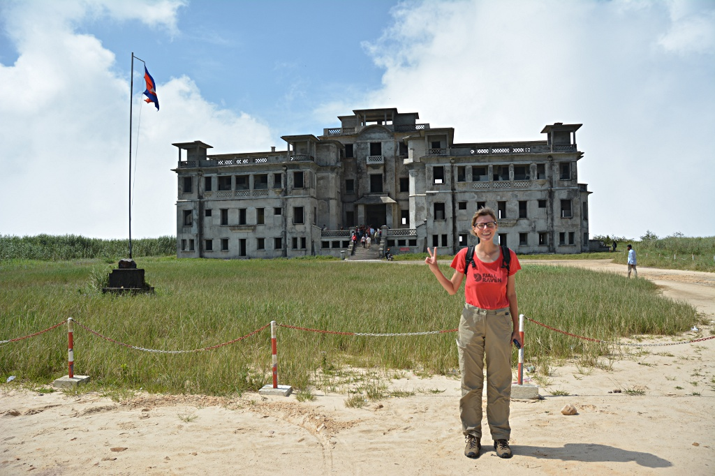 Bokor Palace Hotel built by the French in the 1920's