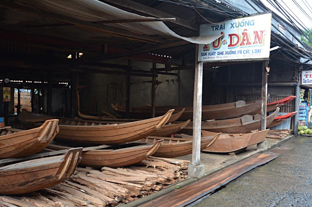 Boat ward in Ca Mau