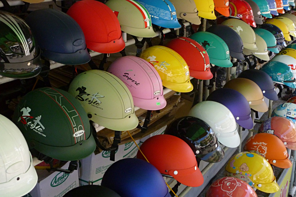 Smart heads protect themselves! Even smarter ones chose a beautiful helmet to do so