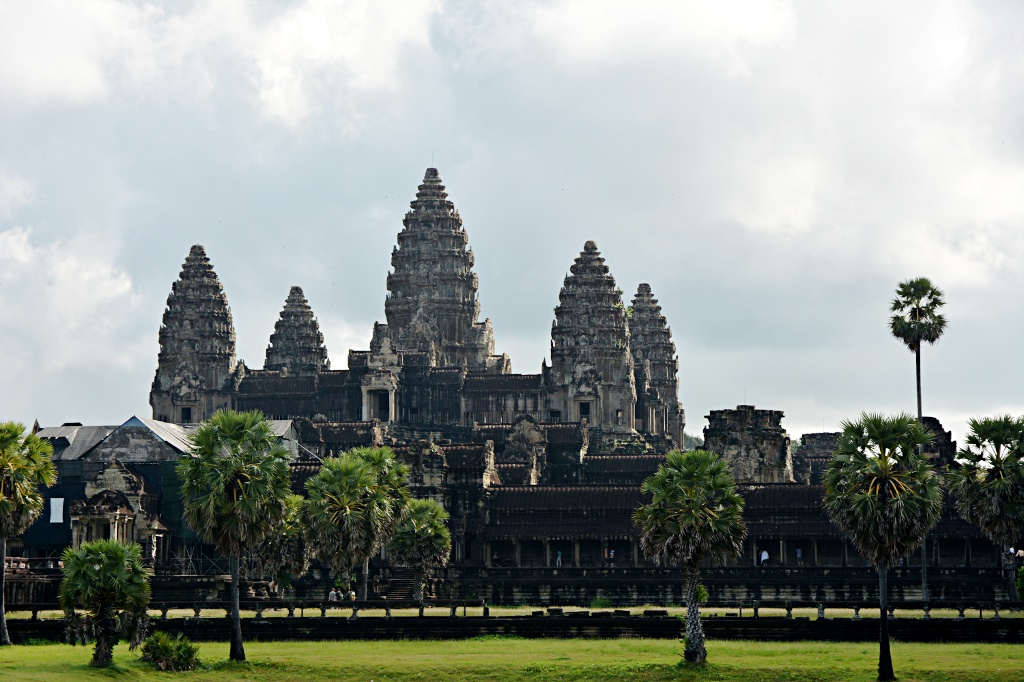 Angkor Wat before it gets flooded with visitors