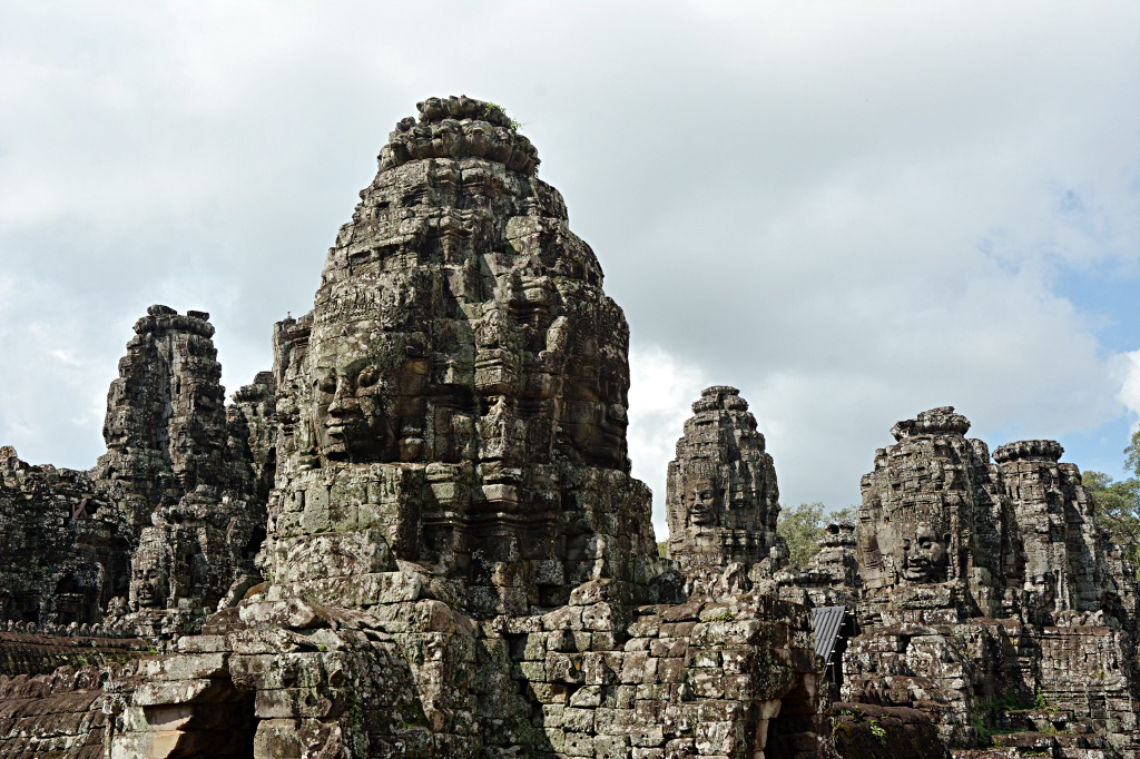 The faces of the Bayon in Angkor Thom