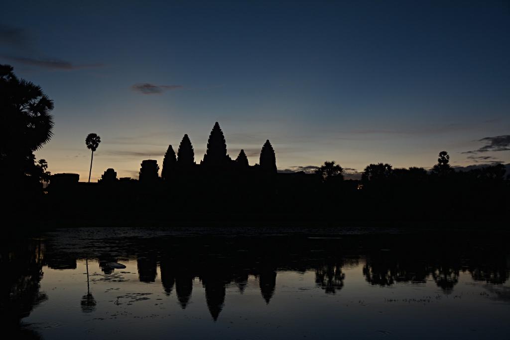 Angkor Wat at 5:37 am