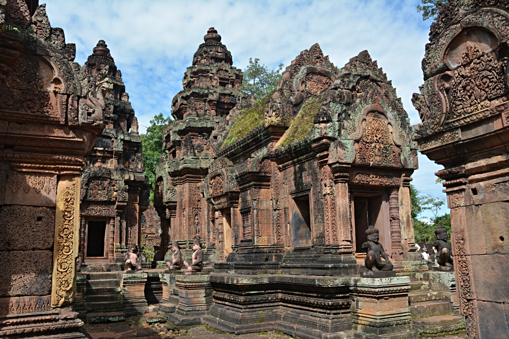 Finally a second to take a picture at Banteay Srey