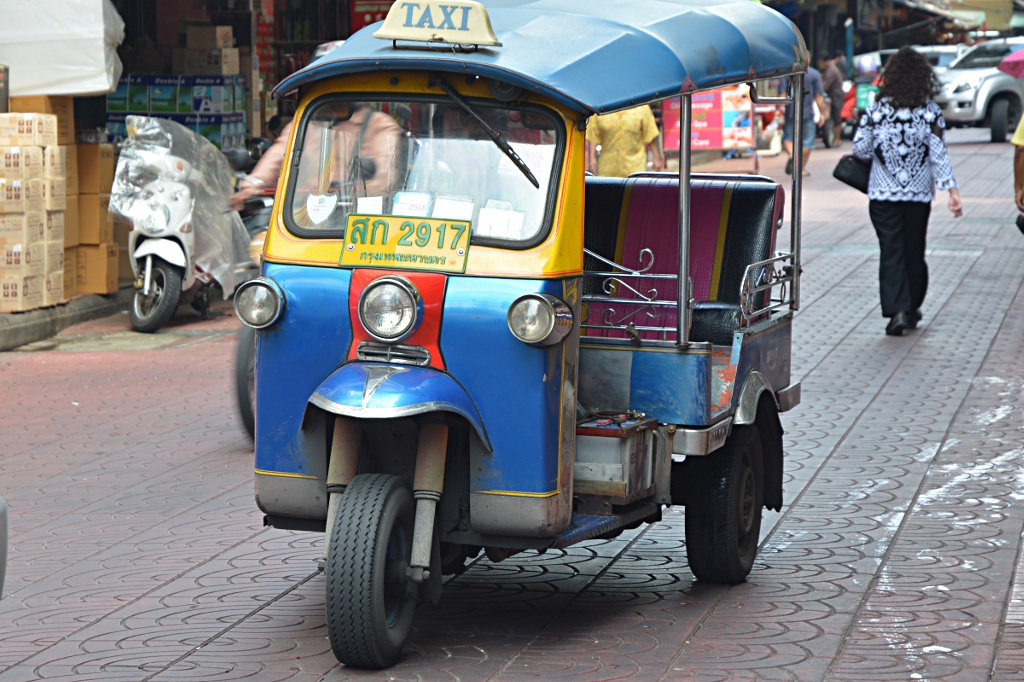 Common means of transport in Bangkok, at least for tourists