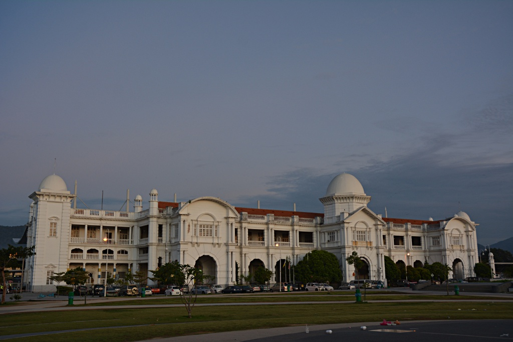 Beautiful Ipoh train station