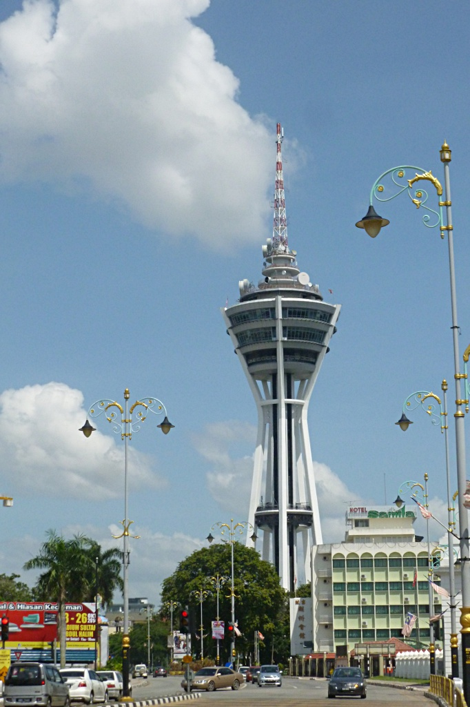 The second largest TV tower in Malaysia in Alor Setar