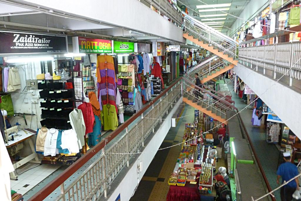 Inside Pekan Rabu market in Alor Setar