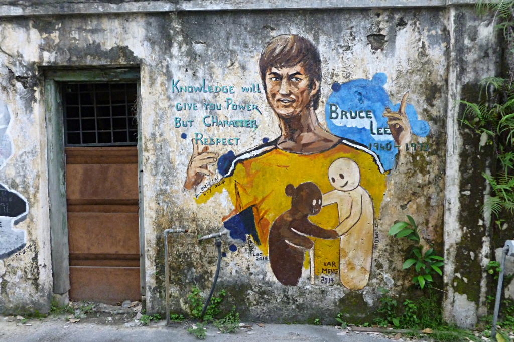 Wise street art in Ipoh