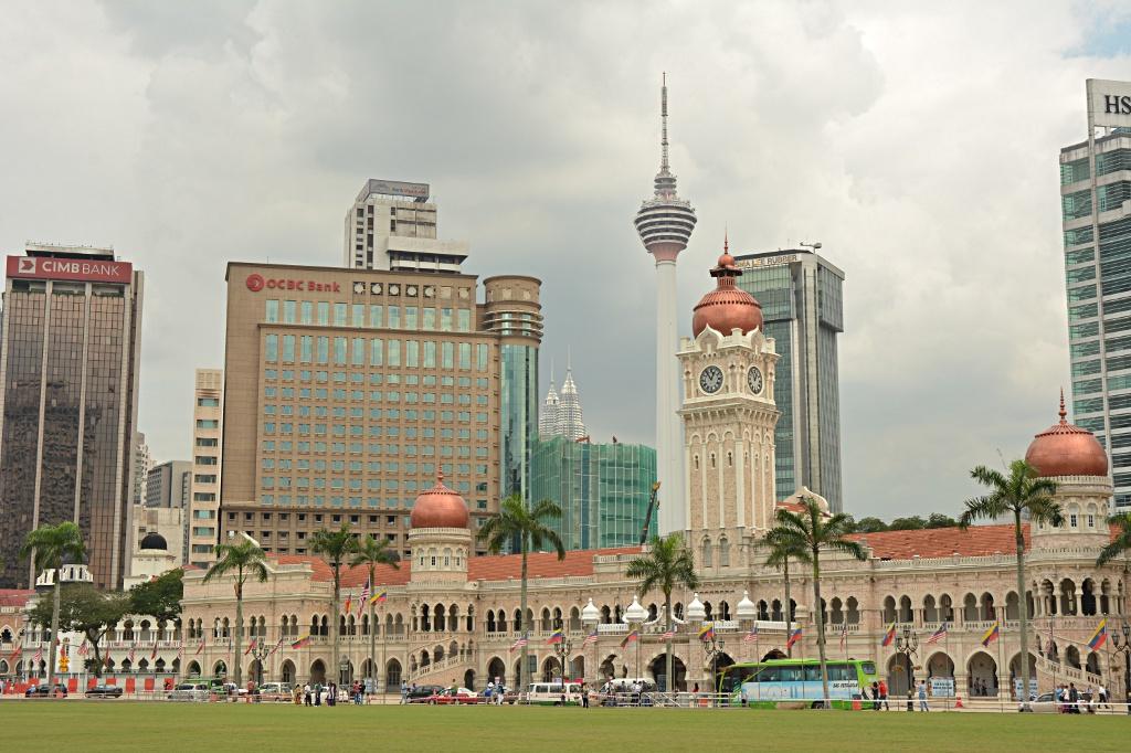 Kuala Lumpur entwickelt sich rasant...