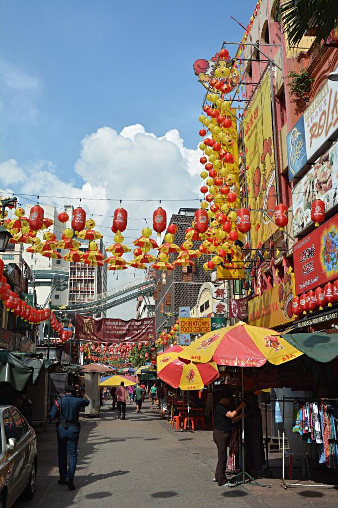Impression von Chinatown