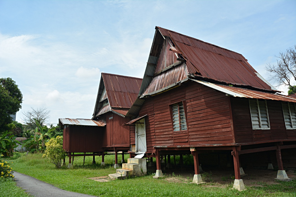 Traditional wooden houses in Malacca