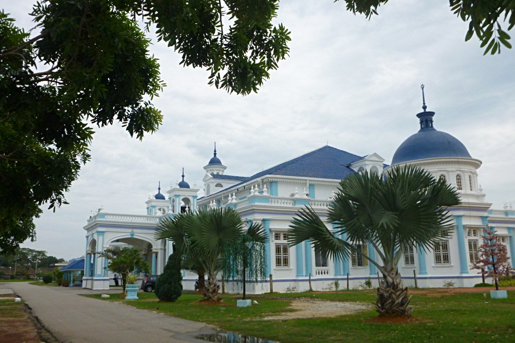 Mosque in British style: Masjid Jamek in Muar